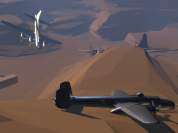 WWII Aircraft in the Desert